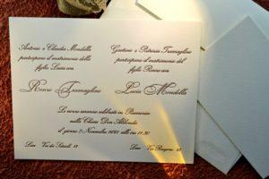 Partecipazioni Matrimonio Catania.Partecipazione E Invito Melania Millesi