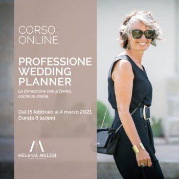 Corso online Professione Wedding Planner
